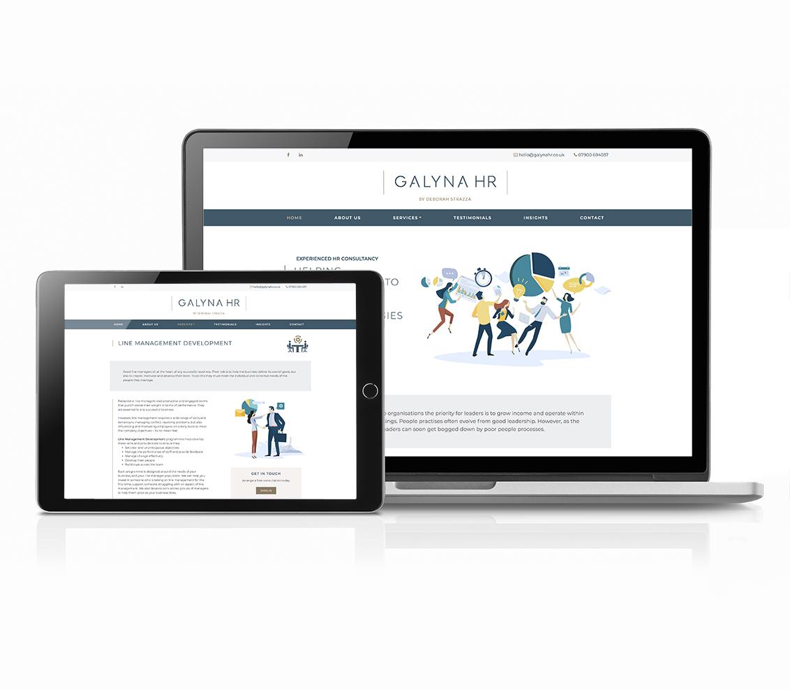 Galyna HR Website - Kimble Comms